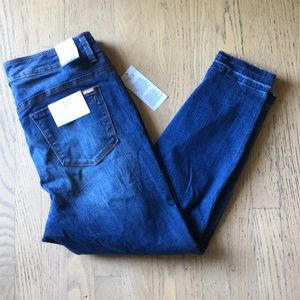 Melissa Mcarthy Seven7 Distressed Pencil Jeans 14
